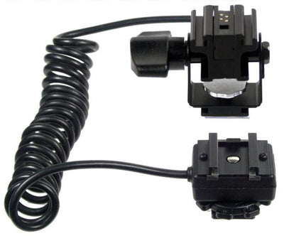 ALZO TTL and Wireless Double Hot Shoe Cord for Sony Cameras