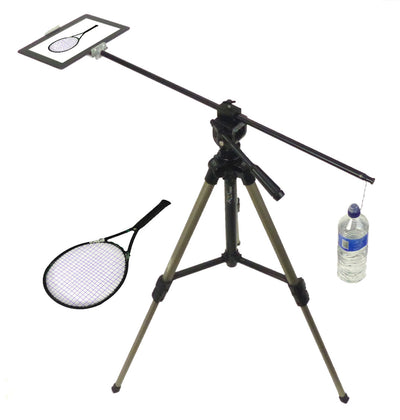 Horizontal Camera Mount for Tablet Overhead Product Photography demo