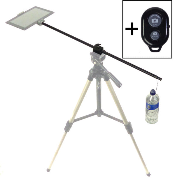 Horizontal Camera Mount For Tablet Overhead Photography