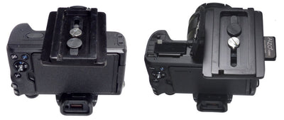ALZO Liberator Battery Door Clearance Plate for Canon
