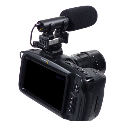 ALZO Cold Shoe Mount for BMPCC 4K, Blackmagic Pocket Cinema Cameras, cages and Rigs