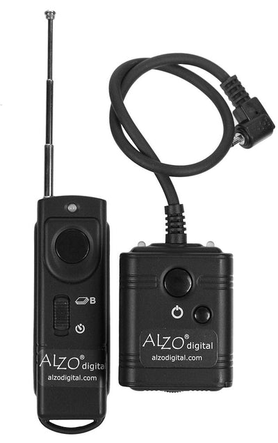 ALZO Wireless Radio Shutter Release 300 Feet Range for Nikon D80, D70s, N2
