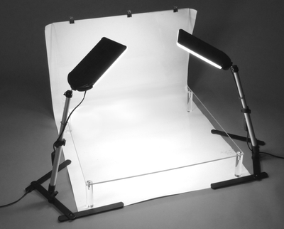 ALZO 100 LED Table Top Platform Light Kit