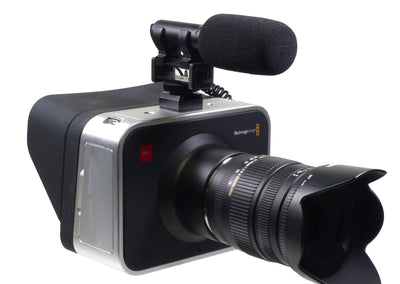 ALZO Video Light Shoe Mount Adaptor for Pro Camcorder Blackmagic side