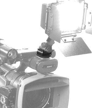 ALZO Video Light Shoe Mount Adaptor for Pro Camcorder with light