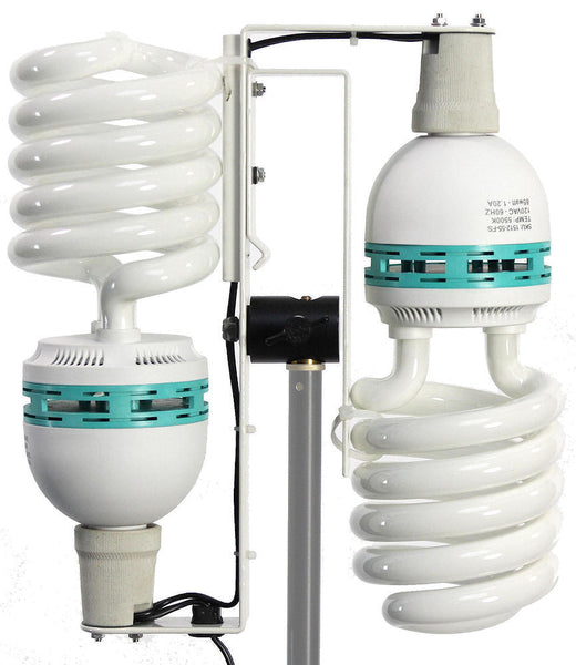 ALZO 200 CFL Video Light stand and bulbs