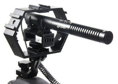 ALZO Multi-Mount® for Attaching Video Gear with shotgun mic