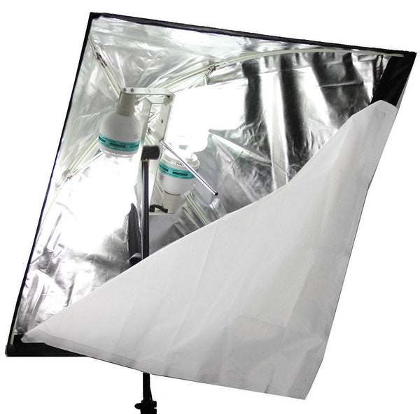 ALZO 200 CFL Umbrella Softbox Light interior