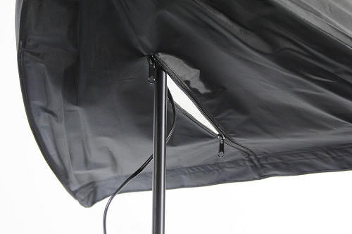 ALZO 200 CFL Umbrella Softbox Light back opening