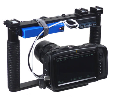 Cage Bracket for BMPCC-4K cinema camera plus with camera demo