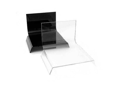 ALZO Small Riser Platform Kit Black and Clear for Product Photography