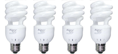 ALZO 15W CFL Video-Lux® Photo Light Bulb 3200K pack of 4