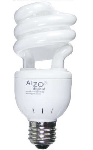 ALZO 15W Joyous Light® Full Spectrum CFL Light Bulb 5500K