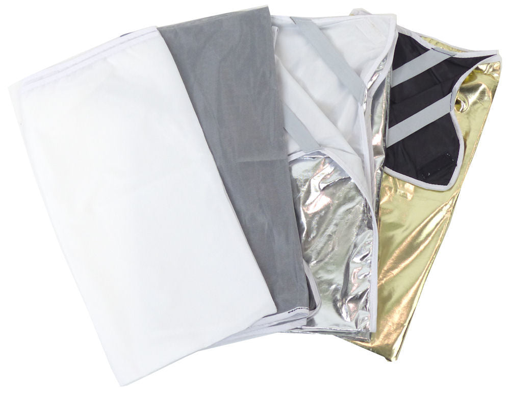 ALZO Easy Frame Diffuser and Reflector Scrim Kit - 1 Meter