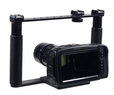 ALZO BMCC 4K Cinema Camera Transformer Rig with camera