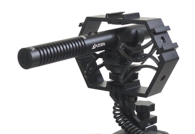 AZDEN SGM-990+i Mono Shotgun Mic with ALZO Multi-Mount