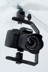 ALZO Suspended Drop Ceiling Upright Camera Mount with DSLR