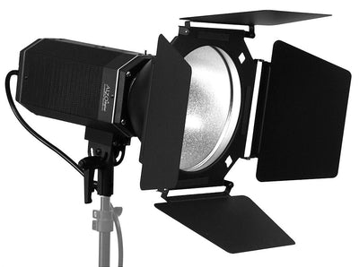 ALZO 3200 High Power LED Video Light with 8 Inch Barndoors