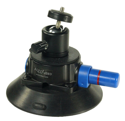 ALZO Suction Mount with Mini Ball Head