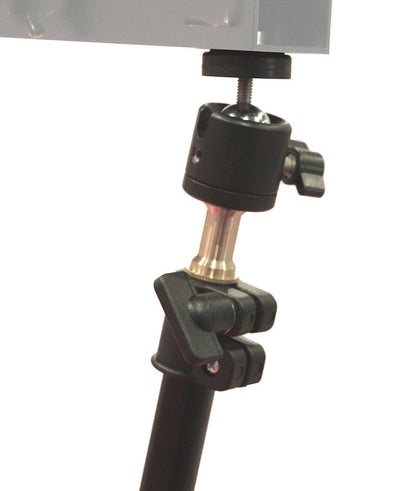ALZO Universal Camera Slider Brace Support with Super Clamp and ball joint