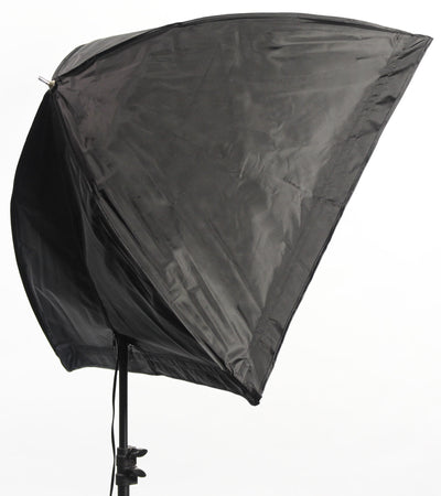 ALZO 200 LED Umbrella Softbox Light 5500K without Stand at angle
