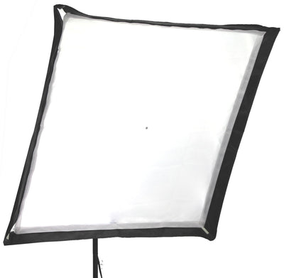 ALZO 200 LED Umbrella Softbox Light 5500K with Stand front diffuser