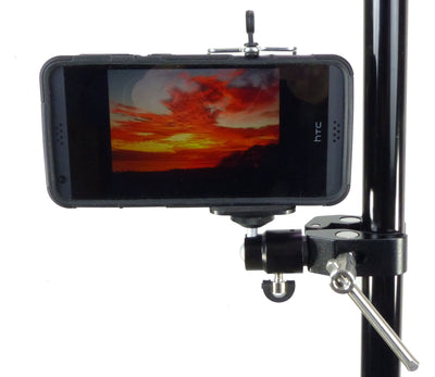 ALZO Smartphone Mount with Ball Head and Clamp on stand