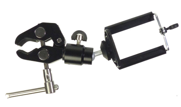 ALZO Smartphone Mount with Ball Head and Clamp