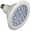 ALZO 18W Joyous Light® Dimmable LED Full Spectrum PAR38 Spot Light Bulb 5500K front view