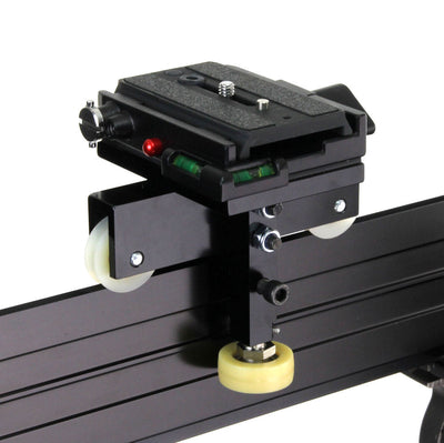 ALZO Smoothy Radius/Curved and Linear Camera Slider Full Gear Kit with Motor Drive carriage