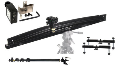 ALZO Smoothy Radius/Curved and Linear Camera Slider Full Gear Kit with Motor Drive