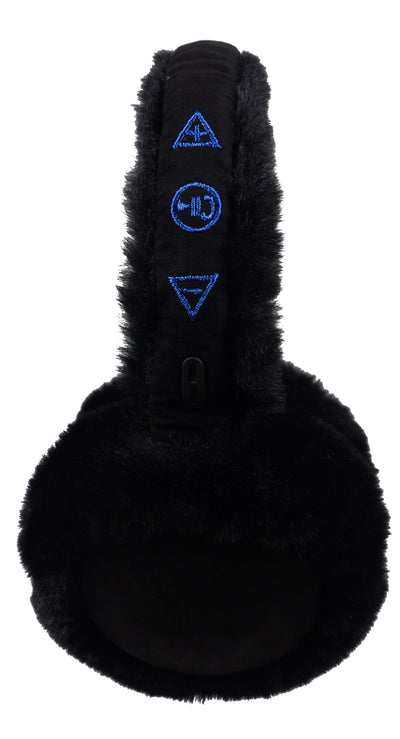 Bluetooth Earmuff Headphones control buttons