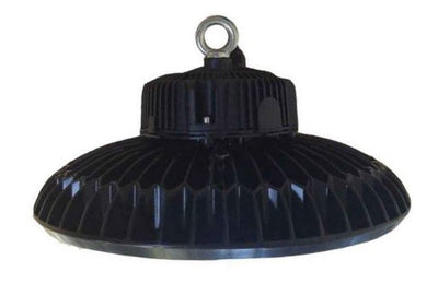 ALZO 200 Watt Dimmable UFO Drum Overhead LED Light side view