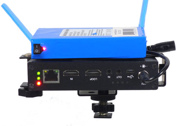 ALZO Newtek Connect Spark Mount with Li-ion Rechargeable Battery