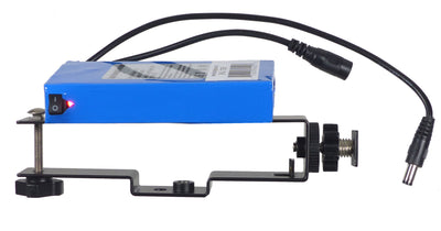ALZO Newtek Connect Spark Mount with Li-ion Rechargeable Battery mounted