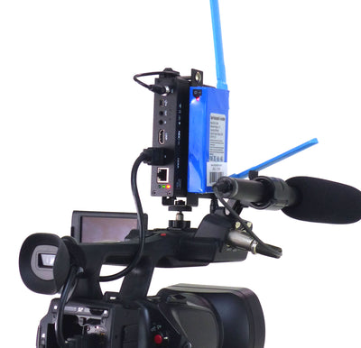 ALZO Newtek Connect Spark Mount with Li-ion Rechargeable Battery side view