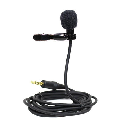 AZDEN Omni-Directional Lapel Lavalier Microphone with TRRS connector for smartphone