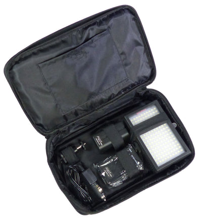 ALZO 792 Bi-Color Adjustable Very Bright LED On-Camera Video Light Power Kit case