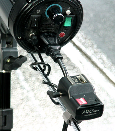 ALZO Wireless Flash Trigger Receiver and flash
