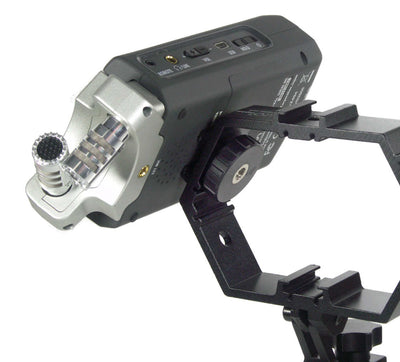ALZO Multi-Mount® for Attaching Video Gear with audio recorder