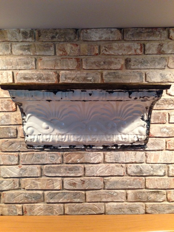Tin Ceiling Cornice Shelf