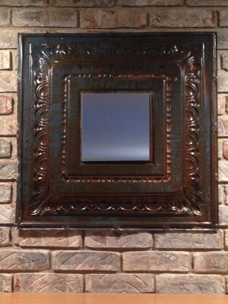 Mirrored Vintage Ceiling Tile