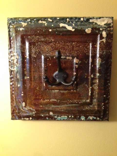Tin Ceiling Wall Hook