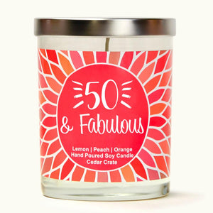 """50 and Fabulous"" 