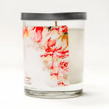 """Bride"" Wine Glass and ""Miss to Mrs."" Jasmine Blossom Candle Gift Set"