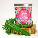 """DOGS Because People Suck"" 
