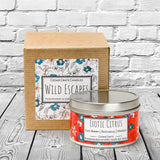 Wild Escapes | Exotic Citrus | 100% Soy Wax Candle