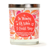 """In Memory of When I Could Sleep In"" 