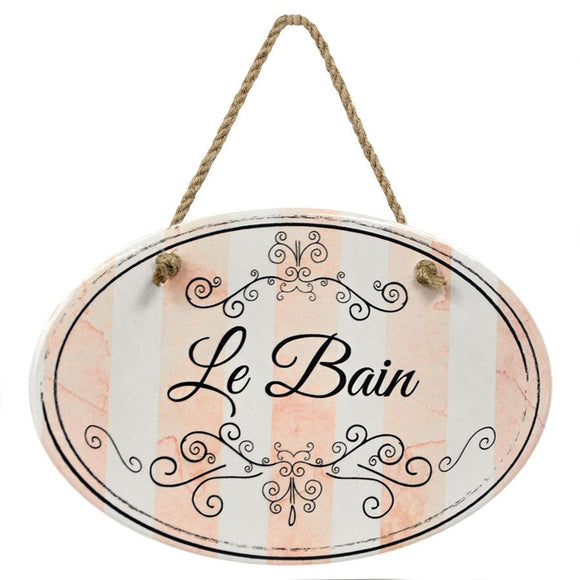 """Le Bain"" Pink Stripe 