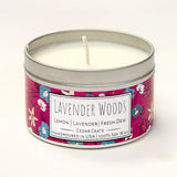 Wild Escapes | Lavender Woods | 100% Soy Wax Candle